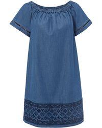 White Stuff   Aspen Bardot Dress   Lyst
