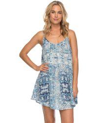 Roxy - Windy Fly Away Strappy Dress - Lyst