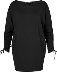Hallhuber - Long Sleeve With Gathered Sleeves - Lyst