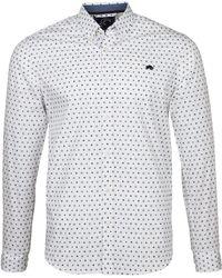 Raging Bull - Big & Tall Long Sleeve Ditzy Print Shirt - Lyst