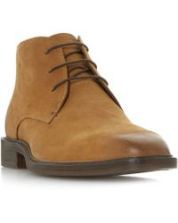 Bertie - Mogul Plain Two Eye Chukka Boots - Lyst