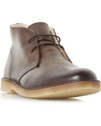 Dune - Calabassas Desert Boots - Lyst