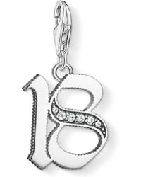 Thomas Sabo - 18 Vintage Lucky Number Charm - Lyst
