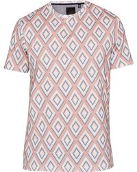 Ted Baker - Hexur Printed T-shirt - Lyst