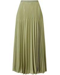 Jacques Vert - Varigated Plisse Skirt - Lyst