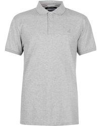 Kangol Brit Fit Polo Shirt Men's Polo Shirt In Grey - Gray
