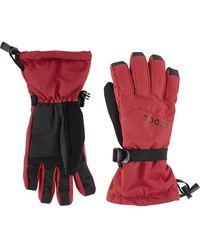 Tog 24 Lockton Waterproof Ski Gloves - Red