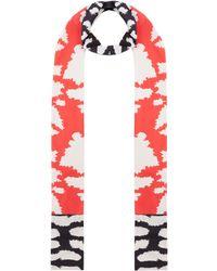 Issa - Leopard Printed Skinny - Lyst
