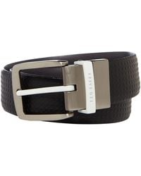 Ted Baker - Delli Dimpled Leather Belts - Lyst