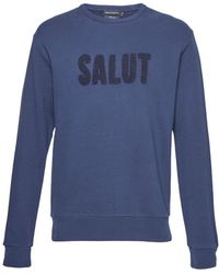 French Connection | Salut Slogan Sweatshirt | Lyst