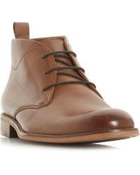 Dune - Messi Smart Chukka Boots - Lyst