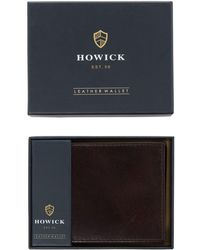 Howick - Leather Wallet - Lyst