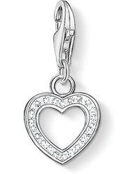 Thomas Sabo - Charm Club Heart Pendant - Lyst