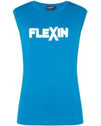 Label Lab - Flexin Twist Back Tank - Lyst