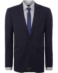 Kenneth Cole Hudson Panama Suit Jacket - Blue