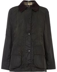 Barbour | Beadnell Waxed Jacket | Lyst