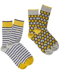White Stuff | Men's Express Yourself Socks 2 Pack | Lyst