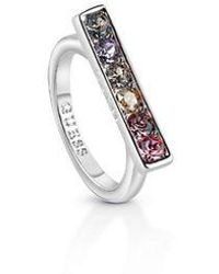 Guess - Hoops I Did It Again Ring - Lyst