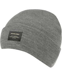 c8ee0901f Jack Dna Beanie Hat - Gray