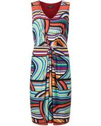 James Lakeland - Stripe Print Dress - Lyst