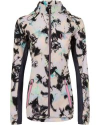 ELLE Sport - Printed Lightweight Jacket With Mesh Detail - Lyst
