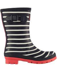 Joules Stripe Wellington Boots - Multicolour