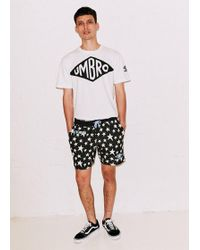 House of Holland - Black Star Shorts - Lyst