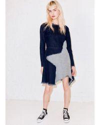 House of Holland - Indigo Star Mini Dress - Lyst