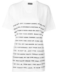 House of Holland - X Max Wallis Poem Tee - Lyst