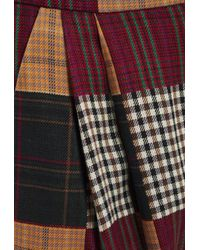 House of Holland Patchwork Wide Trousers - Multicolour