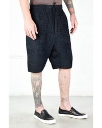 Chapter | Black Smocking Lam Short | Lyst