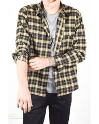 Assembly New York | Assembly Plaid Poet Shirt | Lyst