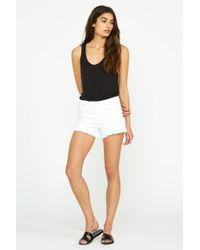 Hudson Jeans Gemma Short - White