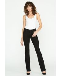 Hudson Jeans Nico Mid-rise Bootcut Jean - Black