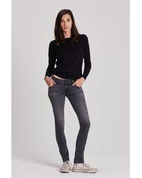 Hudson Jeans Collin Mid-rise Skinny Jean - Blue