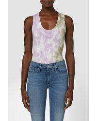 Hudson Jeans Tank Bodysuit - Multicolour