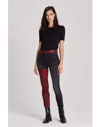 Hudson Jeans Barbara High-rise Super Skinny Jean - Multicolour