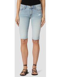 Hudson Jeans Amelia Mid-rise Short - Blue
