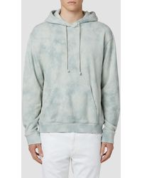 Hudson Jeans Hooded Pullover Sweatshirt - Multicolor