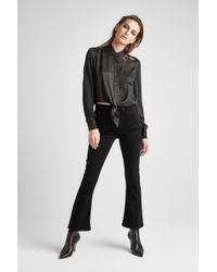 Hudson Jeans - Holly High Rise Crop Flare Jean - Lyst