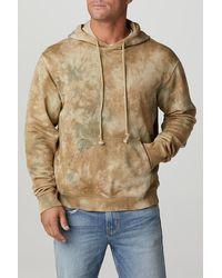 Hudson Jeans Hooded Pullover Sweatshirt - Natural