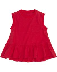 Hudson Jeans - Girls Flounce Tank, Sizes 12mo-24mo - Lyst