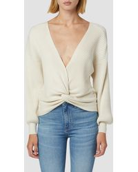 Hudson Jeans Knotted Sweater - Multicolor