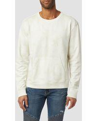 Hudson Jeans Crew Neck Sweatshirt - Natural