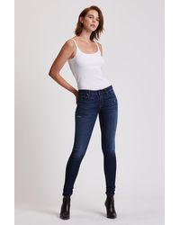 Hudson Jeans Krista Super Skinny Jean - Blue