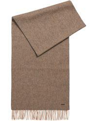 BOSS - Wool Scarf | Heroso - Lyst