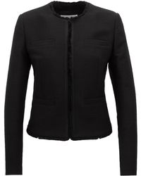 BOSS - Regular-fit Jacket In Tailored Stretch-cotton Tweed - Lyst