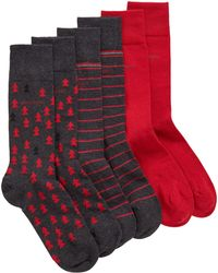 BOSS - Three-pack Of Socks In A Branded Box - Lyst