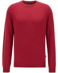 BOSS by Hugo Boss - Regular-fit Sweater In Pure Cashmere - Lyst