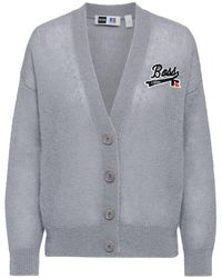 BOSS x Russell Athletic Relaxed-fit Vest Met Exclusief Logo - Metallic